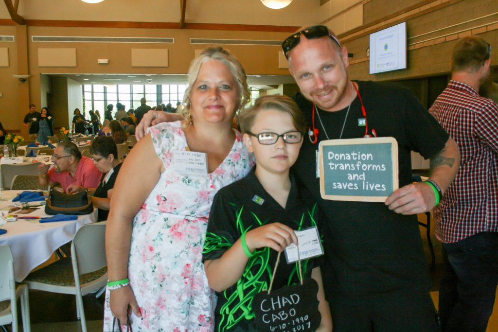 Donor Family supporting SightLife